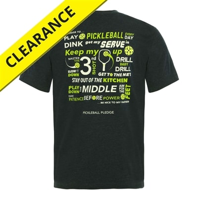 Pickleball Pledge T-Shirt - Men's