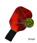 Stain Glass Pickleball Paddle