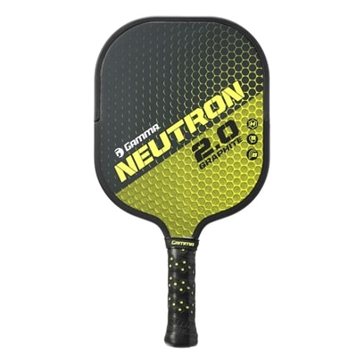 GAMMA Neutron 2.0 Graphite Pickleball Paddle