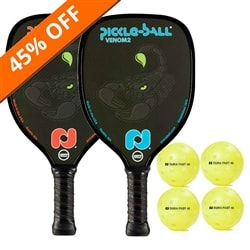 Venom2 Bundle - two paddles/four balls