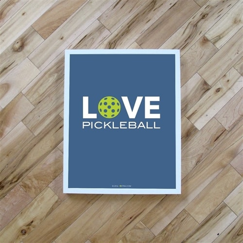Pickleball Poster
