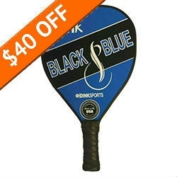 Dink Black & Blue Composite Pickleball Paddle (DISCONTINUED)