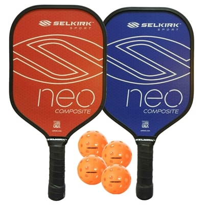 NEO Composite Pickleball Paddle Bundle
