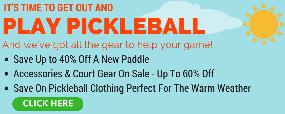 Pickleball Central Spring Sale - Save Up to 60%