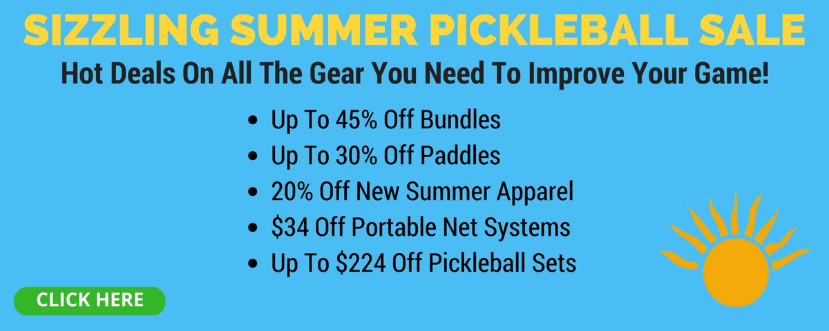 Pickleball Central Summer Sale - Save Up to 60%