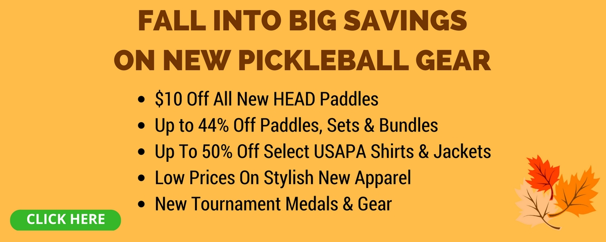 Pickleball Central Fall Sale - Save Up to 60%