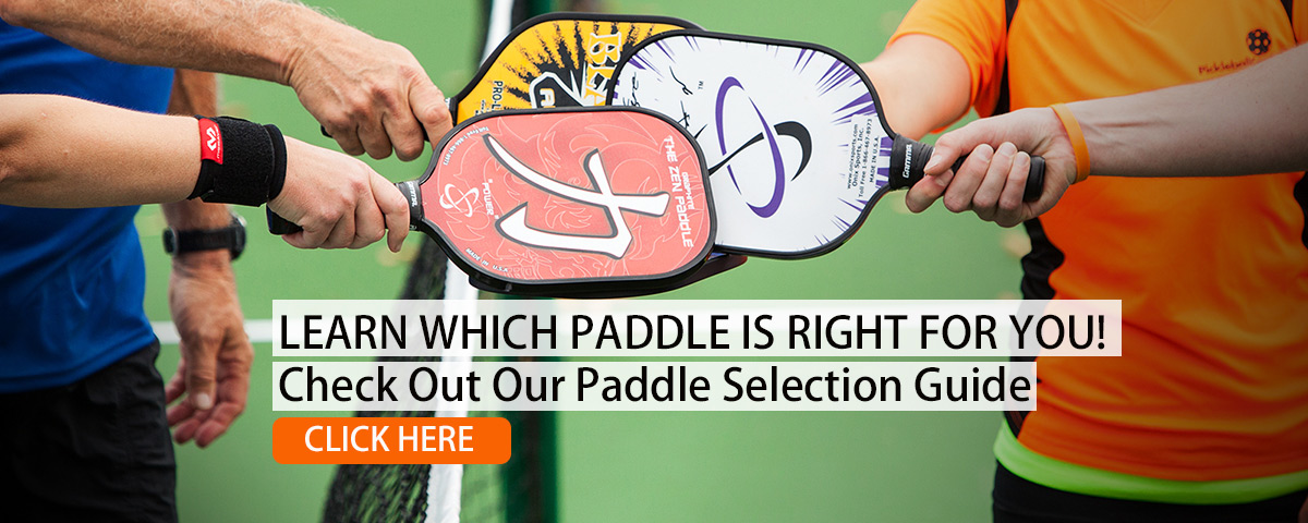 Pickleball paddle comparison guide comparing over models