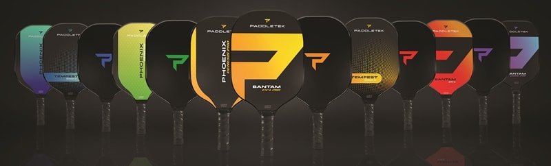 Paddle Lineup for Paddletek's New Era Launch
