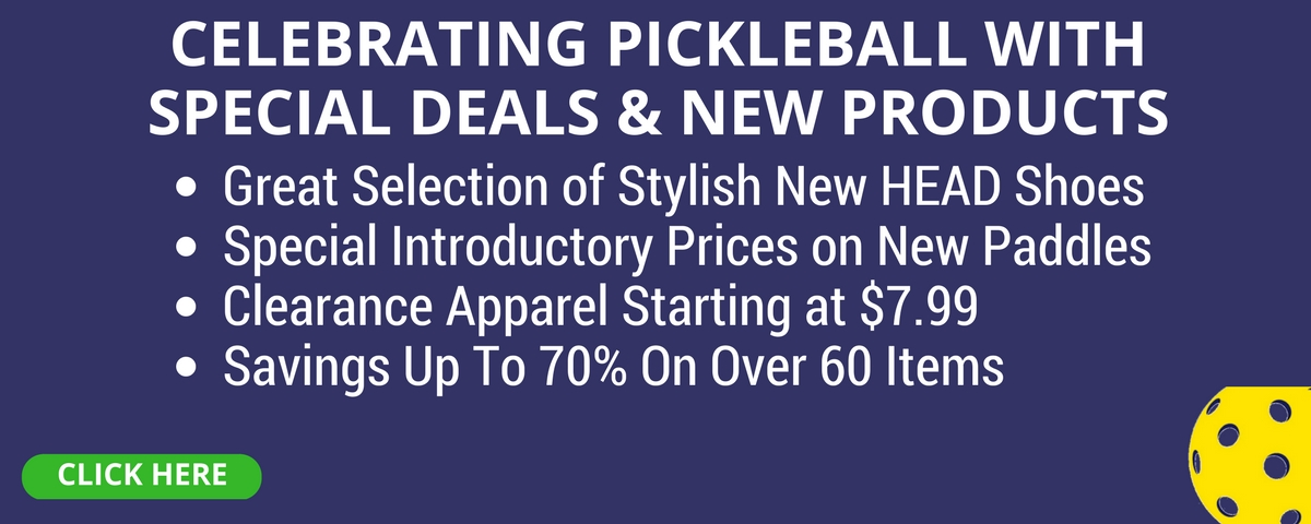 Save up to 70% on our National Pickleball Month Paddle Sale!