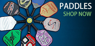 Pickleball paddles organized by make and manufacturer.